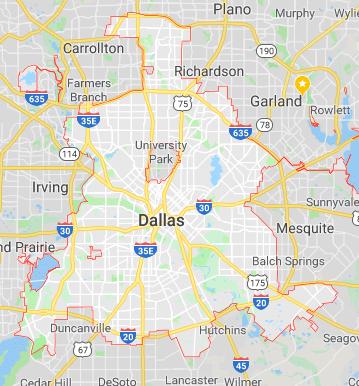 Dallas, Texas Outline